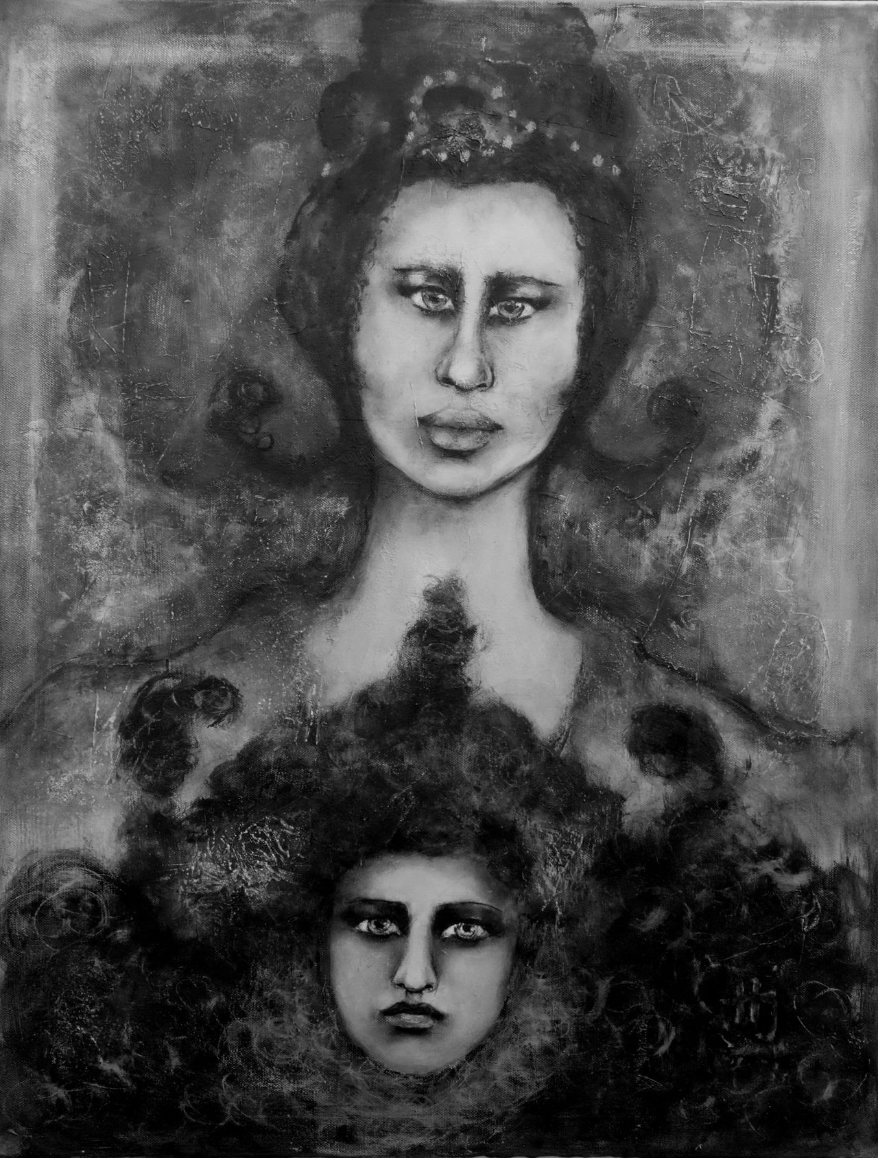 Creativity Fantasy Paitig Portrait
