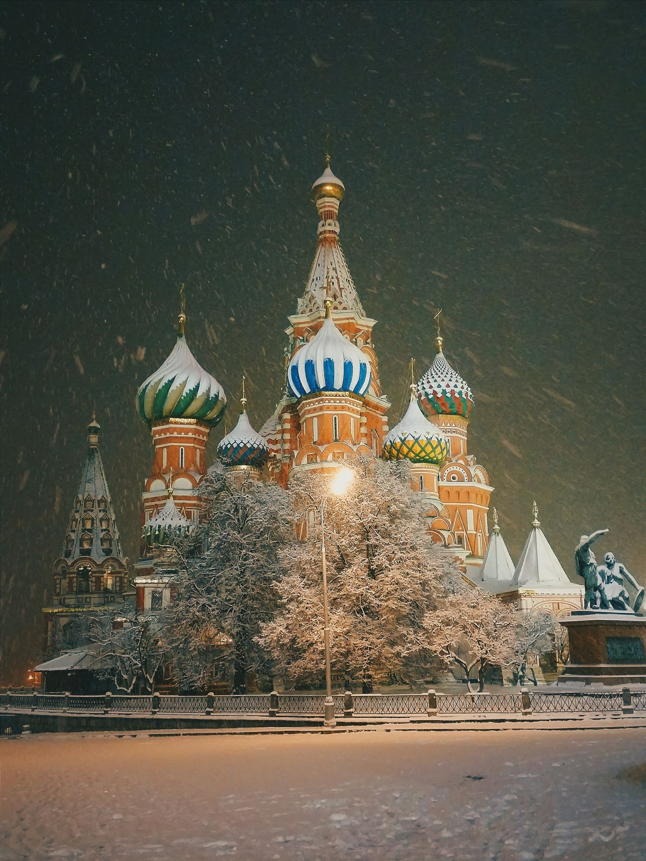 Beautiful stock photos of moscow, Architecture, Building Exterior, Built Structure, Cathedral
