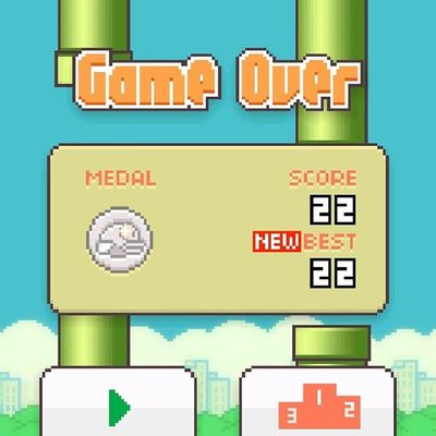 Flappy bird, come at me.