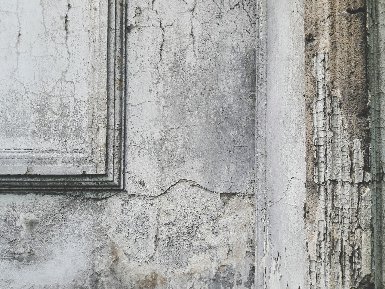 Full Frame Of Weathered Wall