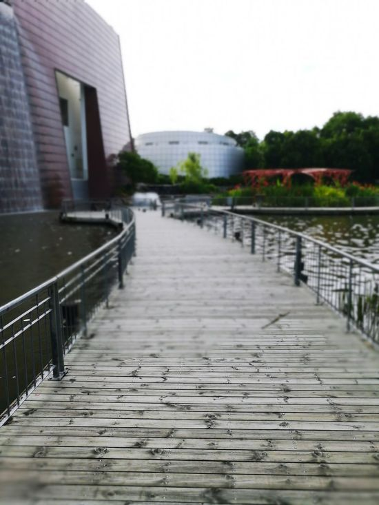 Architecture Built Structure No People Building Exterior Outdoors City Water Day Footbridge Wood Paneling Walkway Park - Man Made Space Thailand🇹🇭 Bangkok Architecture Focus On Foreground