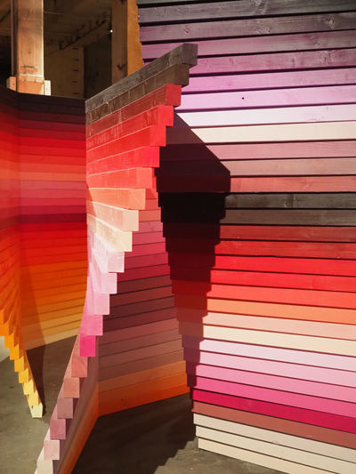 Rainbow Colors Color Swatch Day Indoors  Multi Colored No People Palette Paper Perspectives Playground