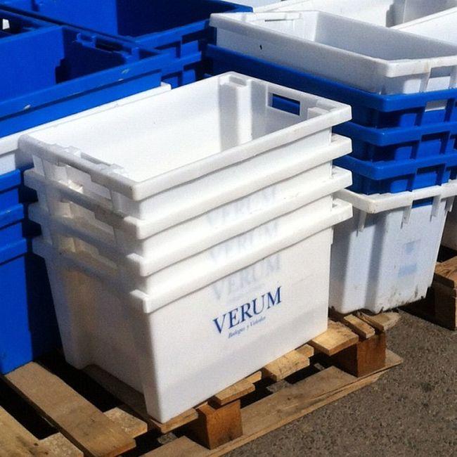 Cajas de vendimias de Bodegas Verum Tomelloso