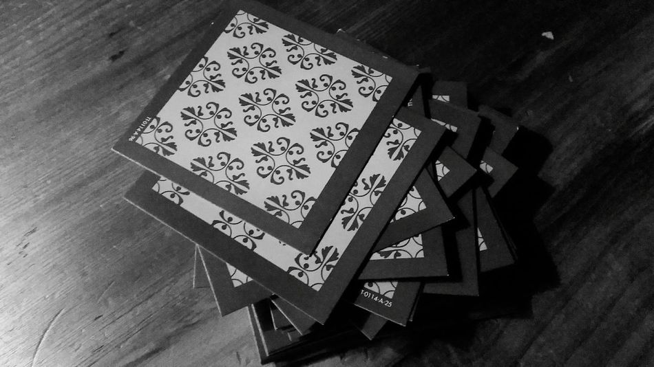 The deck of cards awaits the next player. Are you up to the game? Pattern Pieces Cards Patterns Blackandwhite Black And White Collection  Black And White Shades Of Grey Showcase: January Barscene