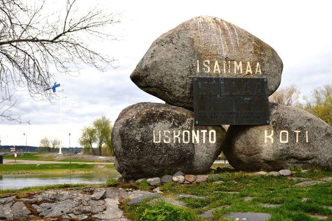 Religion Fatherland Home Finland Flag Beautiful Lake