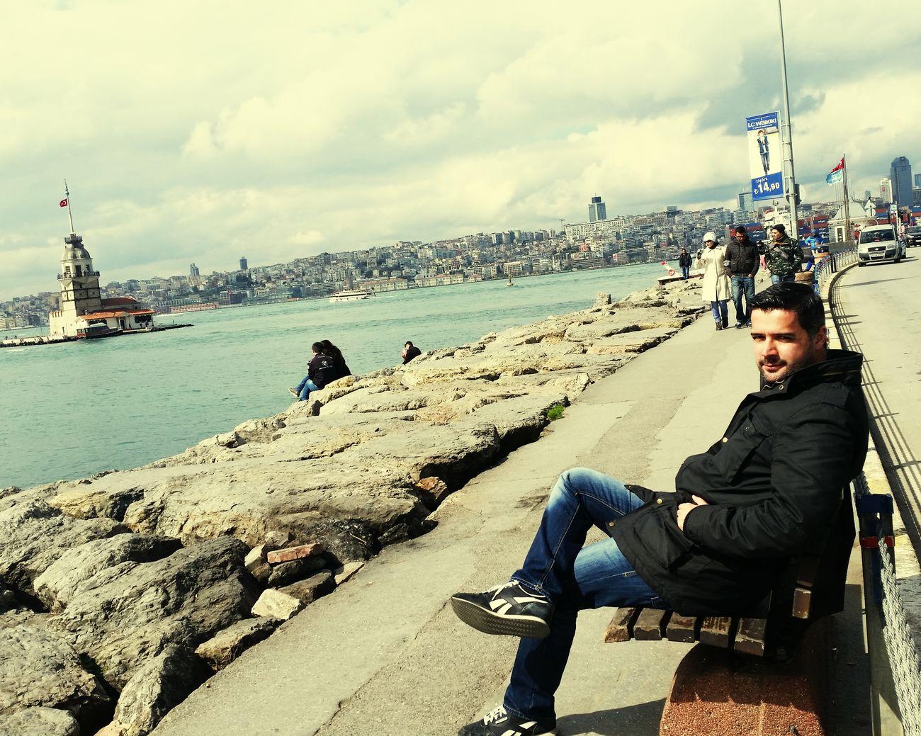 Istanbul Turkey Istanbul Bosphorus Kizkulesi Maiden Tower