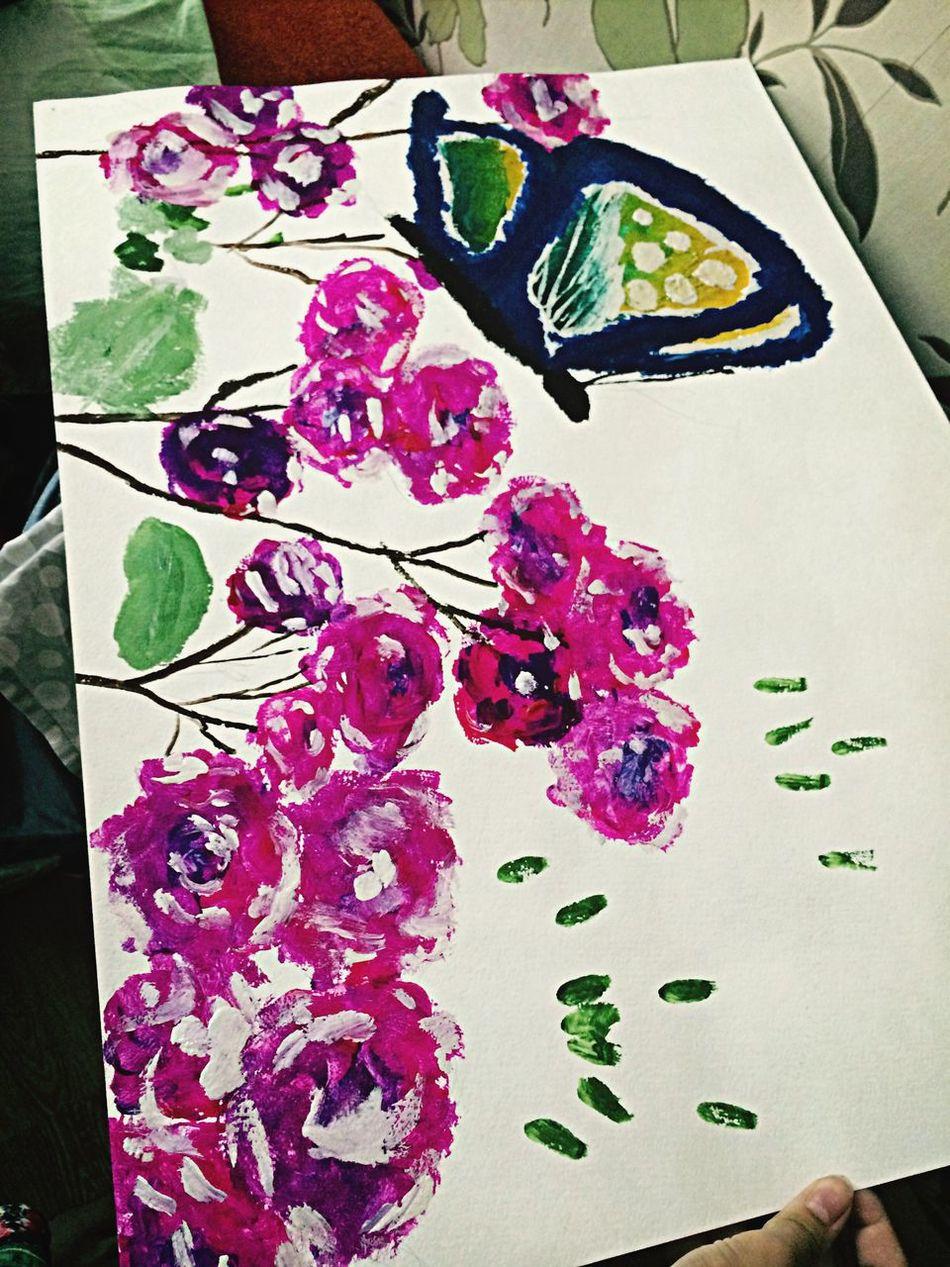Art Draw Flower Fantasy Create