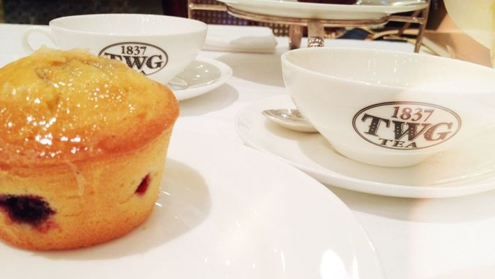 Better than coffee at TWG Tea Salon & Boutique by Bianca Angelle Chiong
