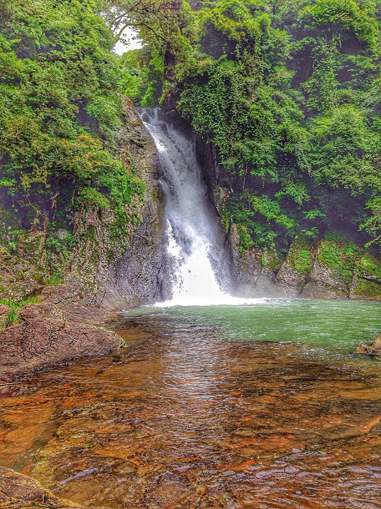 Beauty In Nature Chasing Waterfalls For I Grew Up The Mountains Nobody Around Mountains And Valleys Outdoor Photography Naturelovers Japan Scenery In Nagasaki, Perfecture The Great Outdoors - 2016 EyeEm Awards Waterfall #water #landscape #nature #beautiful