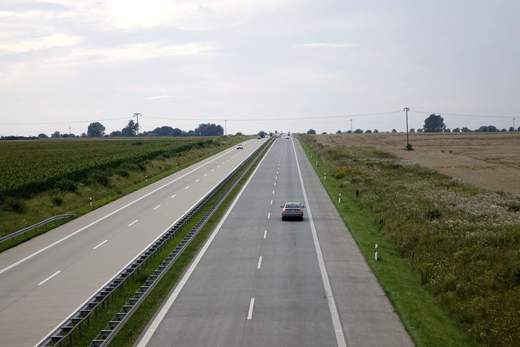 A11 Autobahn Car Car Point Of View Cloud - Sky Day Diminishing Perspective Dividing Line Highway Land Vehicle Mode Of Transport Nature No People Outdoors Road Road Marking Sky The Way Forward Transportation Tree