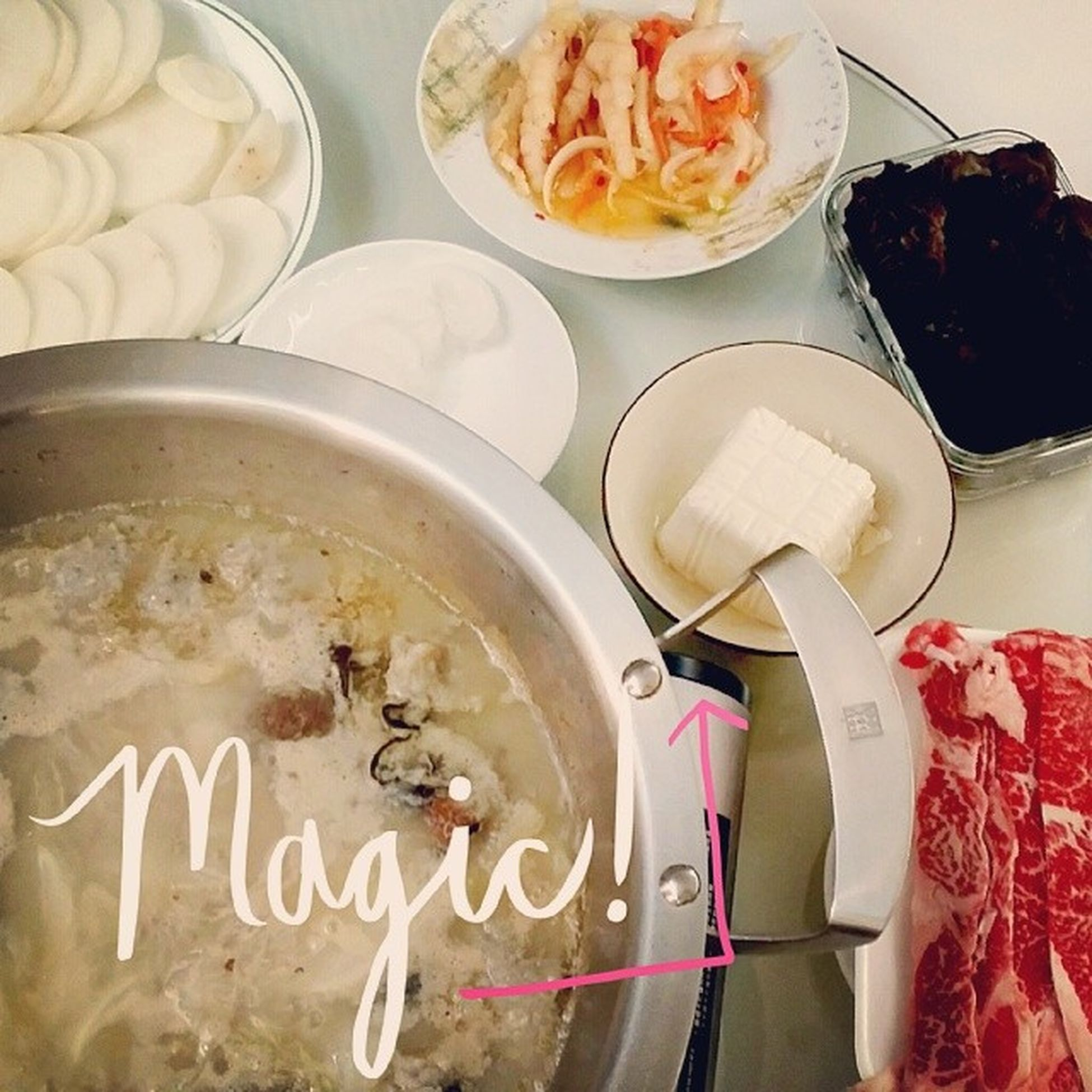 Perfect day for hot pot!!! Hotpot Hktraditional Foodest Winterfood