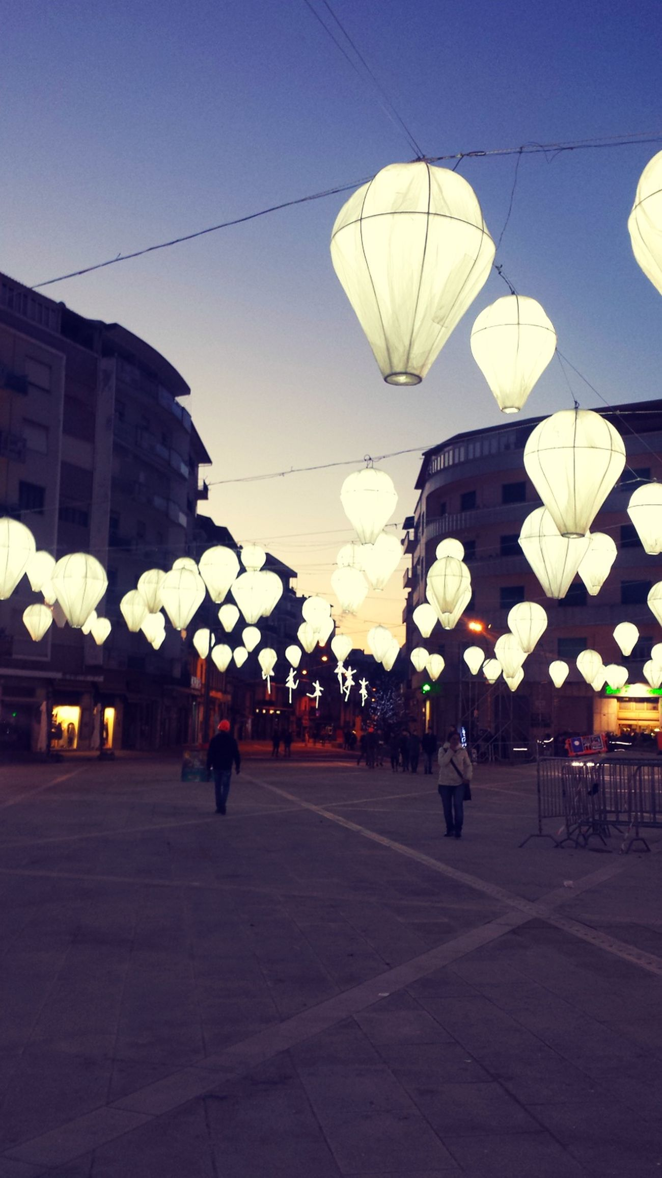 City Outdoors Emotions Captured Light And Shadow Light Christmas Decoration Christmastime Christmas Lights Happy New Year 2017 Happy People Hot Air Balloon Eyemphotography Calabria (Italy) Capture The Moment Wintertime Cold Temperature Winter Cosenza Cosenzamiabellissima Piazza Calabria
