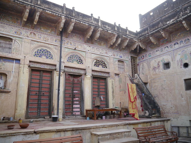 Architecture Balcony Building Building Exterior Built Structure Day Exterior Haveli History India Travel Nature Photography No People Old Outdoors Residential Building Residential Structure Silkroad Southasia