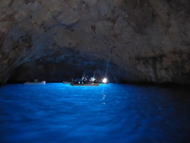 Colour Of Life Blue Blue Grotto Capri, Italy Amalfi Coast Natural Beauty Color Pallete