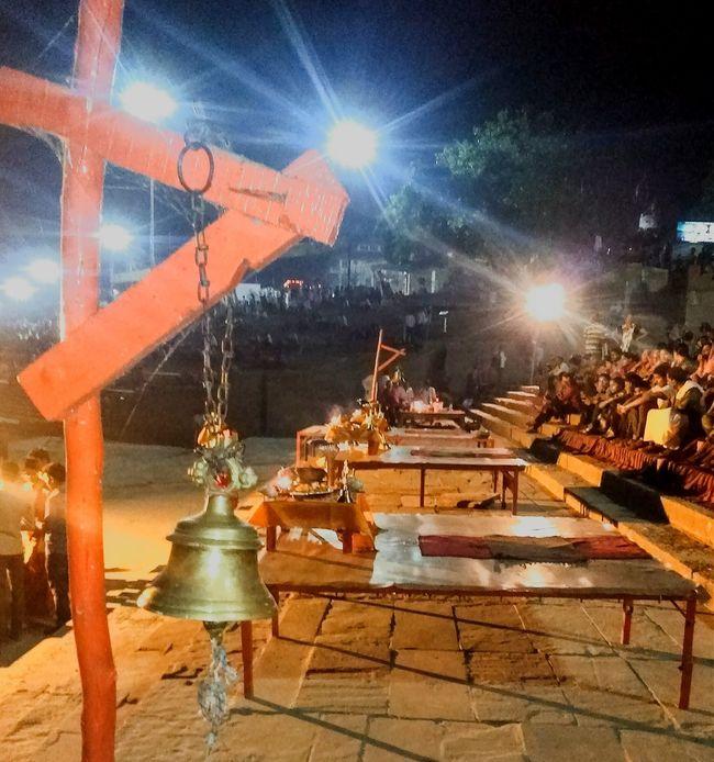 Varanasi, Assi, Banaras ghat, Ganga Aarti, Lights, Culture