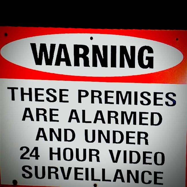 Signs Warning Sign Signporn Surveillance Sign Signstalkers Signs_collection Security Sign Security Warning SignSignEverywhereASign Alarm System Securitas SignsSignsAndMoreSigns Signage Signs Signs Everywhere Signs Signs, Signs, & More Signs Warning Signs  Sign, Sign, Everywhere A Sign Security Issues Security Notice Securitycam Warningsign Video Surveillance Closed Circuit Tv Alarm