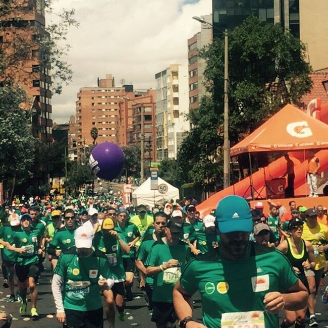 Marathonrunner Runners Mediamaratonbogota Bogotá Bogotaniando