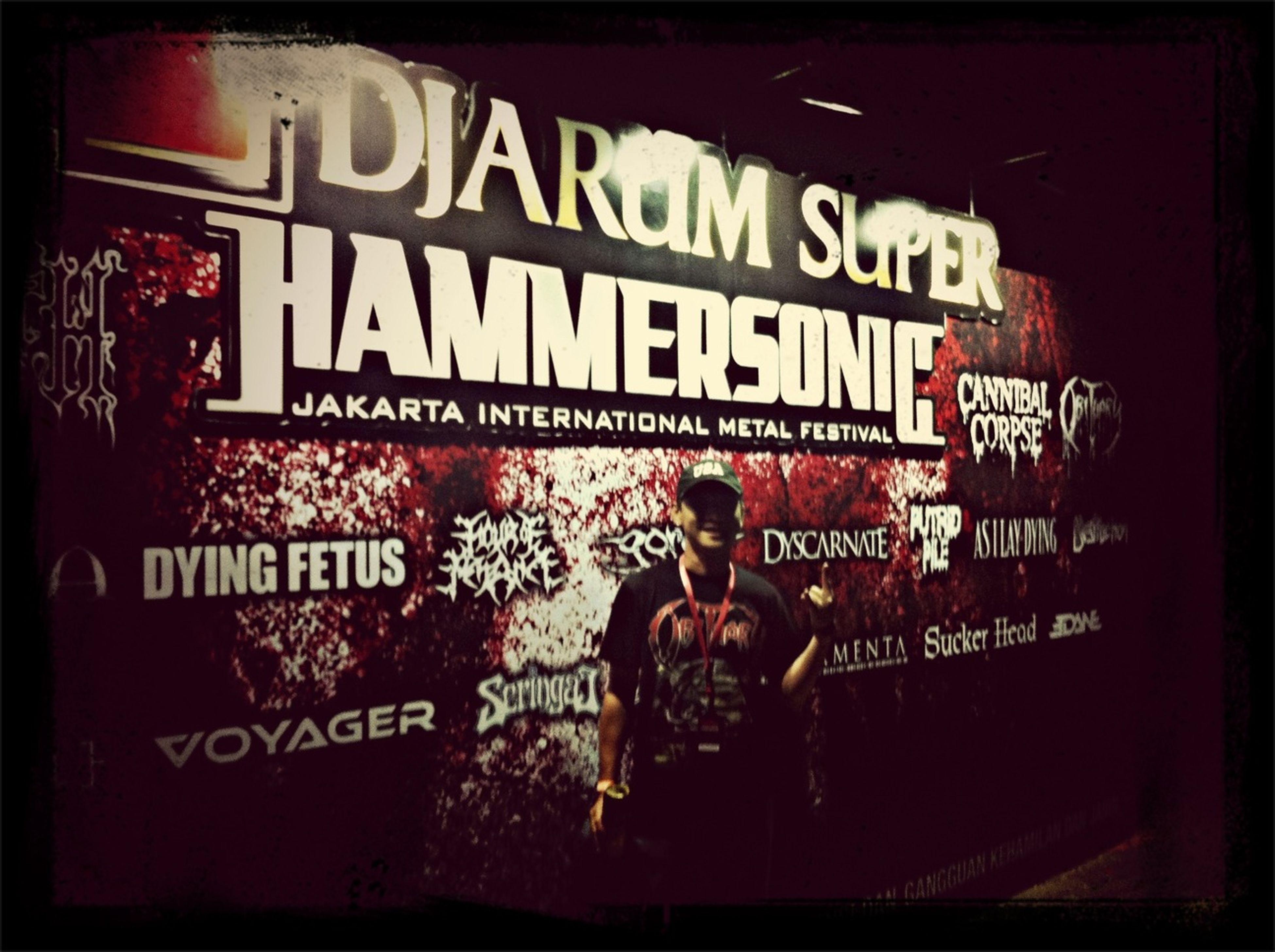 Heading Hammersonic2013