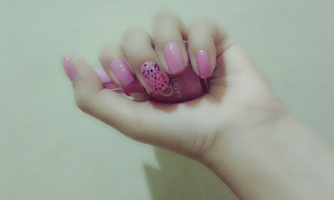 Nails at My homeyy.. by adzalea satrifi anggreini