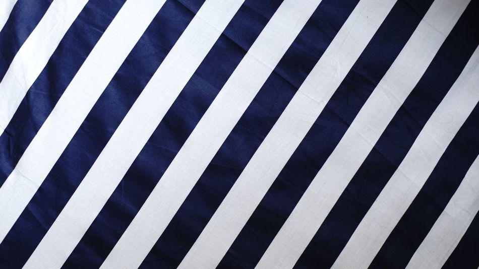 Striped Backgrounds Full Frame White Color Pattern No People Outdoors Close-up Day Fabrics Textures