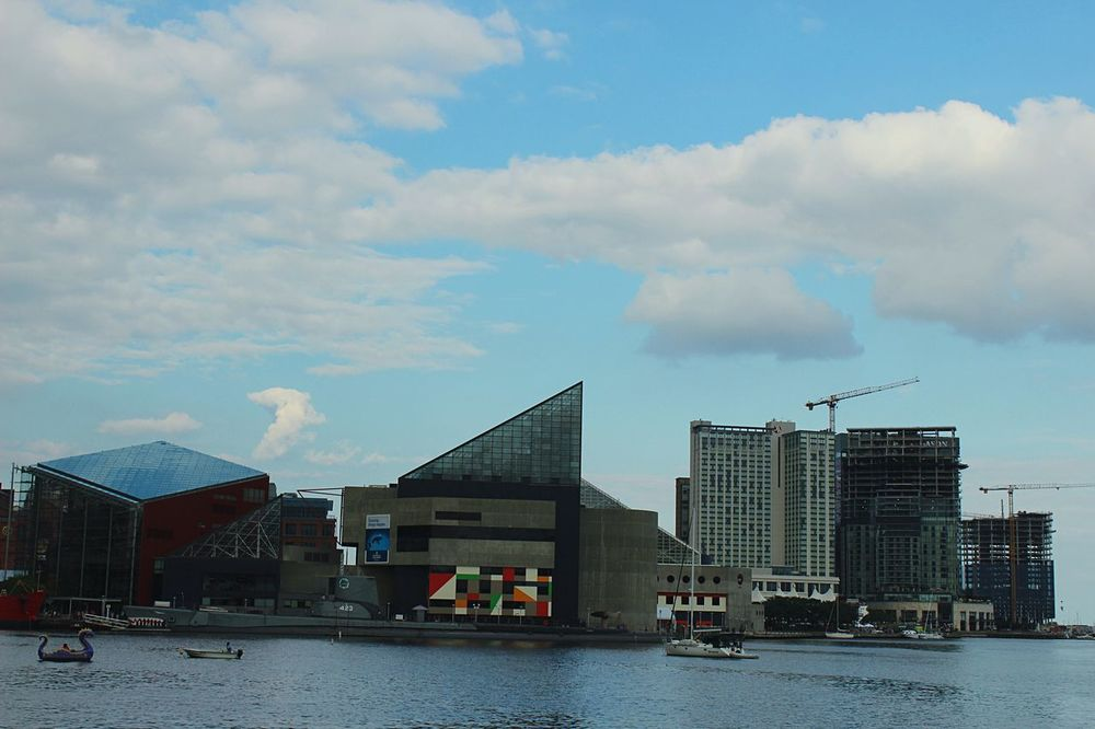 In the heart of Baltimore, clear beautiful Cityscapes with Open Edit technology. The Inner Harbor WJII Photography I Love My City