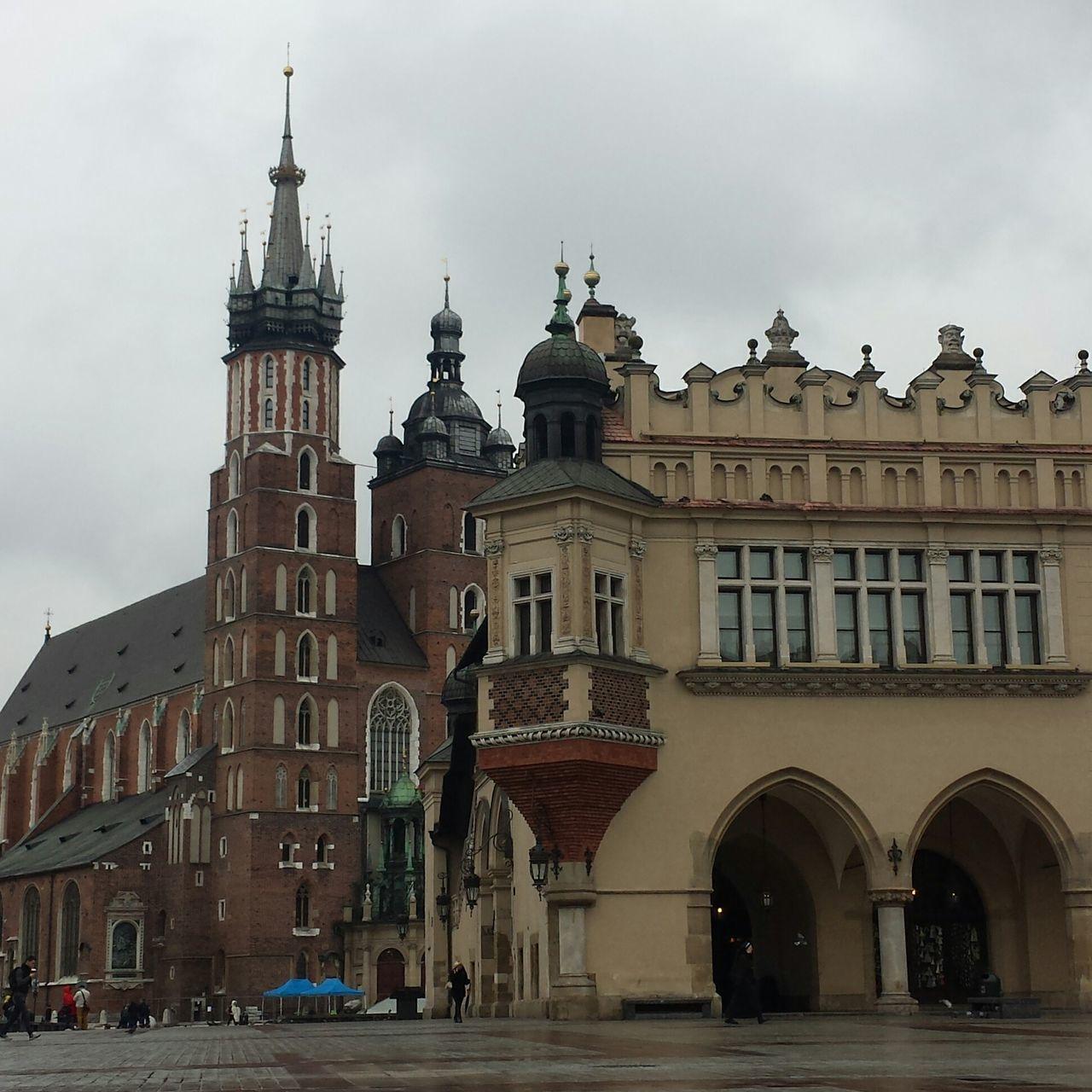 Welcome in Krakòv... Travel Destinations City Architecture Cityscape Krakow Poland Main Square