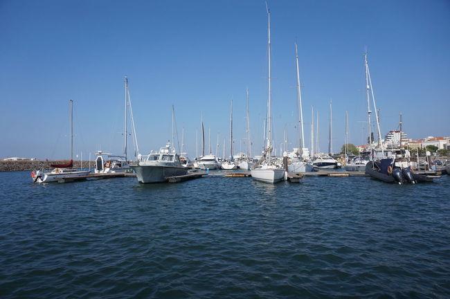 Beauty In Nature Blue Boat Mondego Nautical Vessel Ocean Sailboat Transportation Water