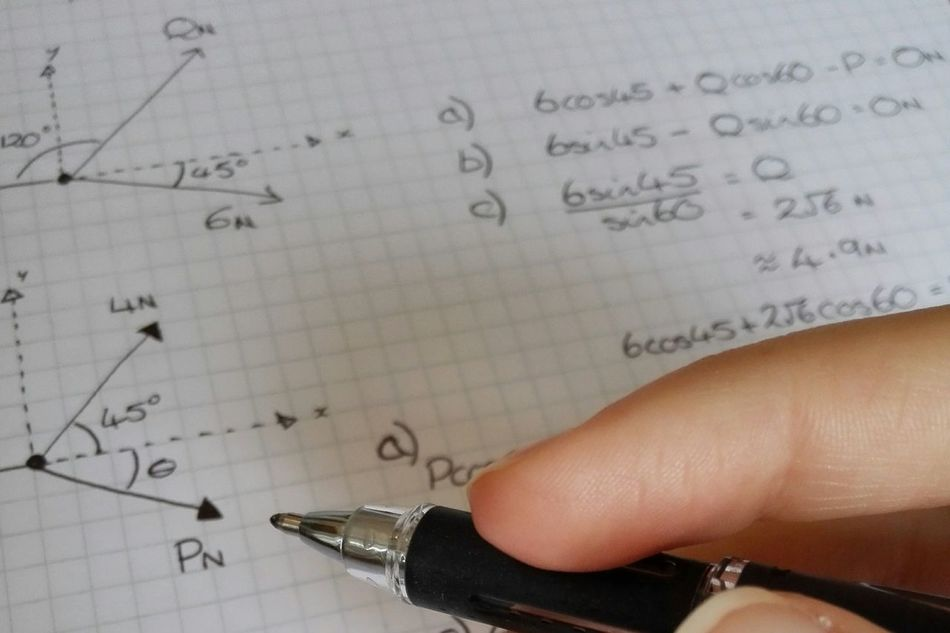 Beautiful stock photos of math, Ballpoint Pen, Close-Up, Cropped, Day