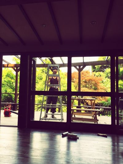 by hand part2 梅雨前に防腐塗料シッカリ塗んなきゃ Namaste Peace And Quiet Enjoying Life Lovelife Naturelovers わたしはみてるだけ