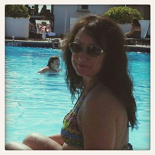 Swimming Tanning Enjoying Myself Cheese!