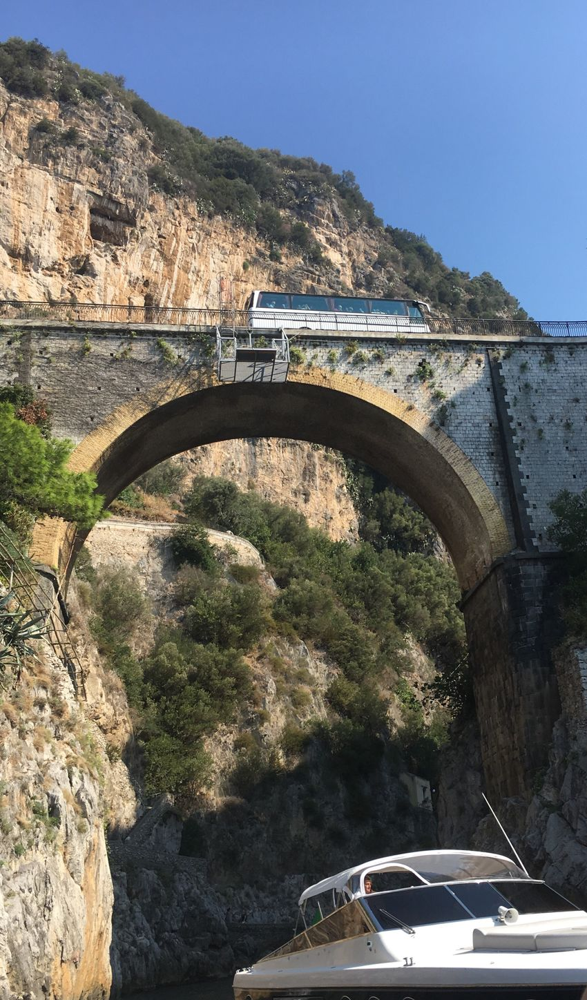 Transportation Arch Car Mode Of Transport Bridge - Man Made Structure Land Vehicle Connection Built Structure Mountain Arch Bridge Architecture Tree Road Arched Tunnel Cliff Engineering Amalfitan Coast Amalfi Coast Drive Outdoors Day
