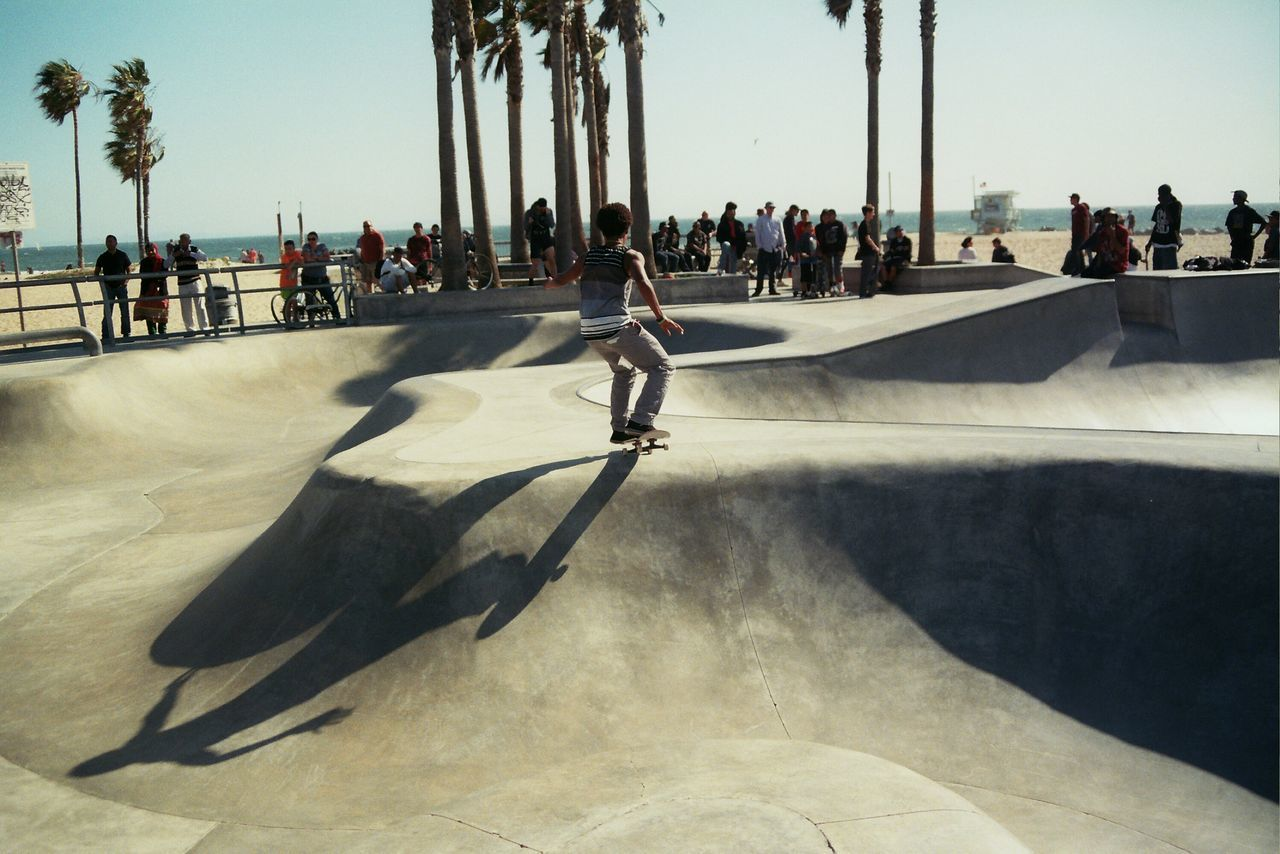 Beautiful stock photos of california, large group of people, shadow, lifestyles, leisure activity