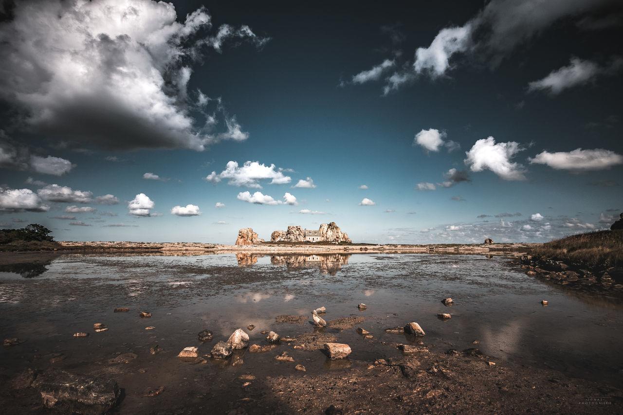 Bretagne Bretagnetourisme Canon Canonphotography Cloud - Sky Day Folk France Gettyimages Landscape Lighthouse Nature_collection No People Ocean Outdoors Rock Seascape Sky