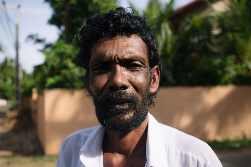 Travel in Sri Lanka Adventure Casual Clothing Day Discovery Exotic Exploring Focus On Foreground Front View Headshot Leisure Activity Lifestyles Looking At Camera Mature Adult Mature Men Mid Adult Men One Person Outdoors Real People Senior Adult Senior Men Sri Lanka Travel Travel Photography Traveling The Portraitist - 2017 EyeEm Awards