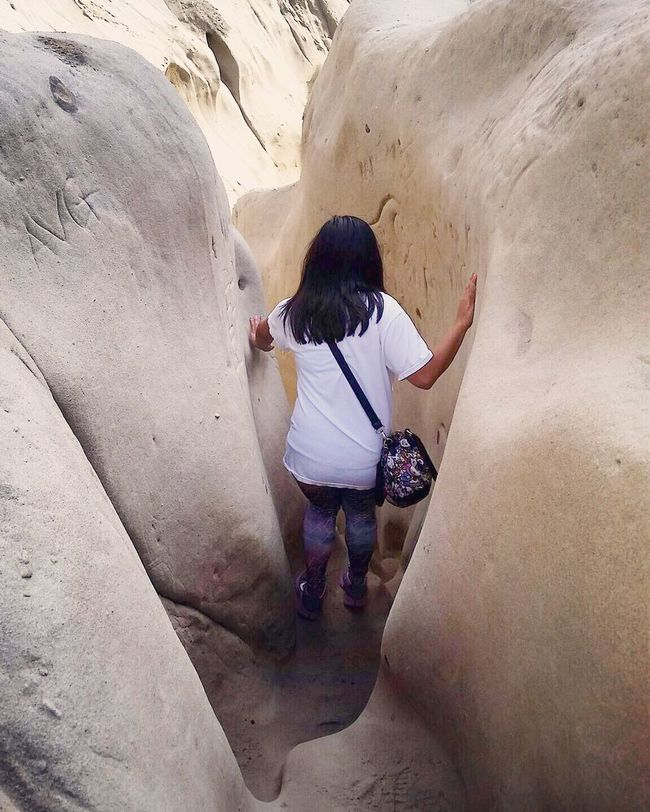 You never know what could be on the other side. Takechances La Jolla San Diego Ho Chi Minh Trail Adventure Hiking