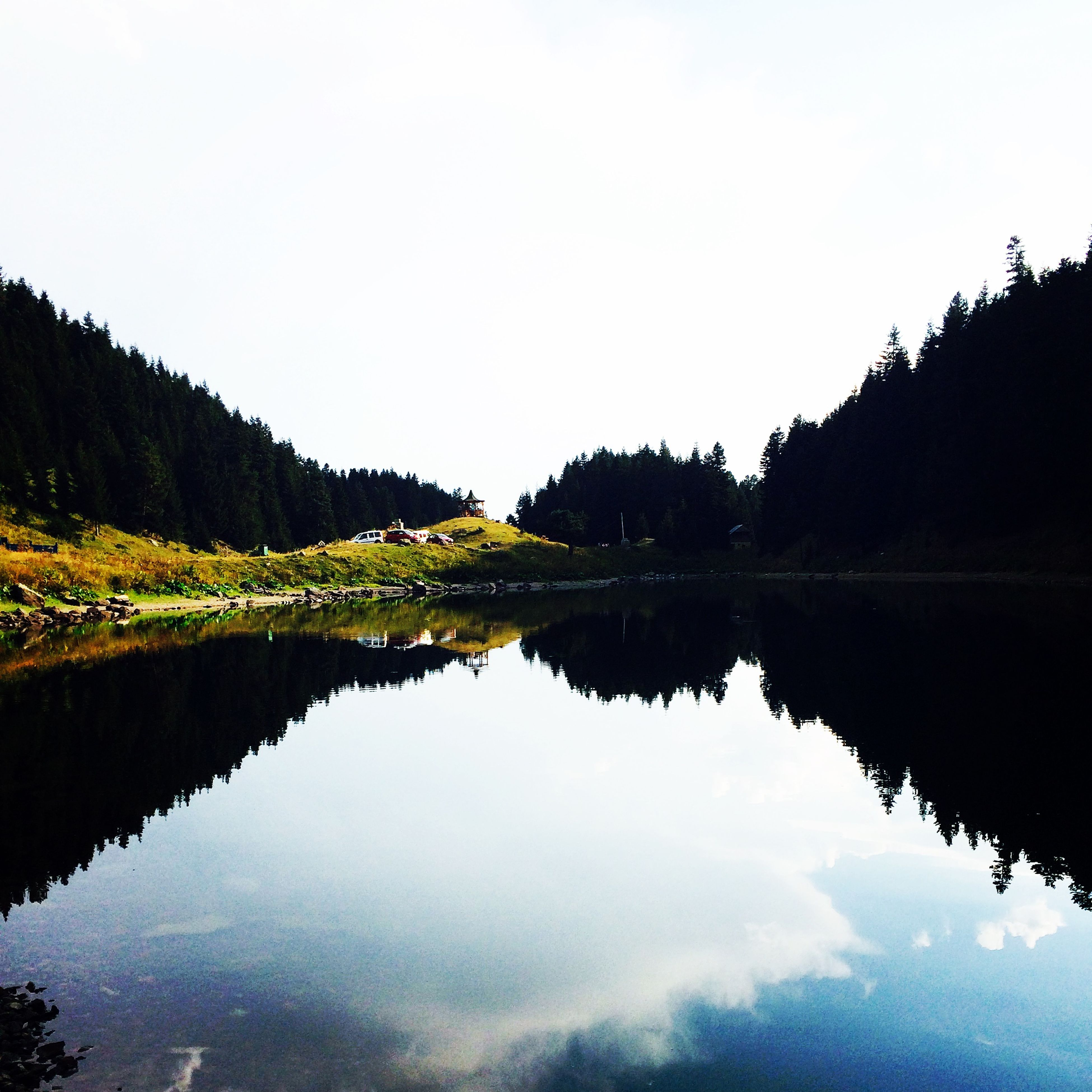 Lake Green Nature Mine Amazing Legend