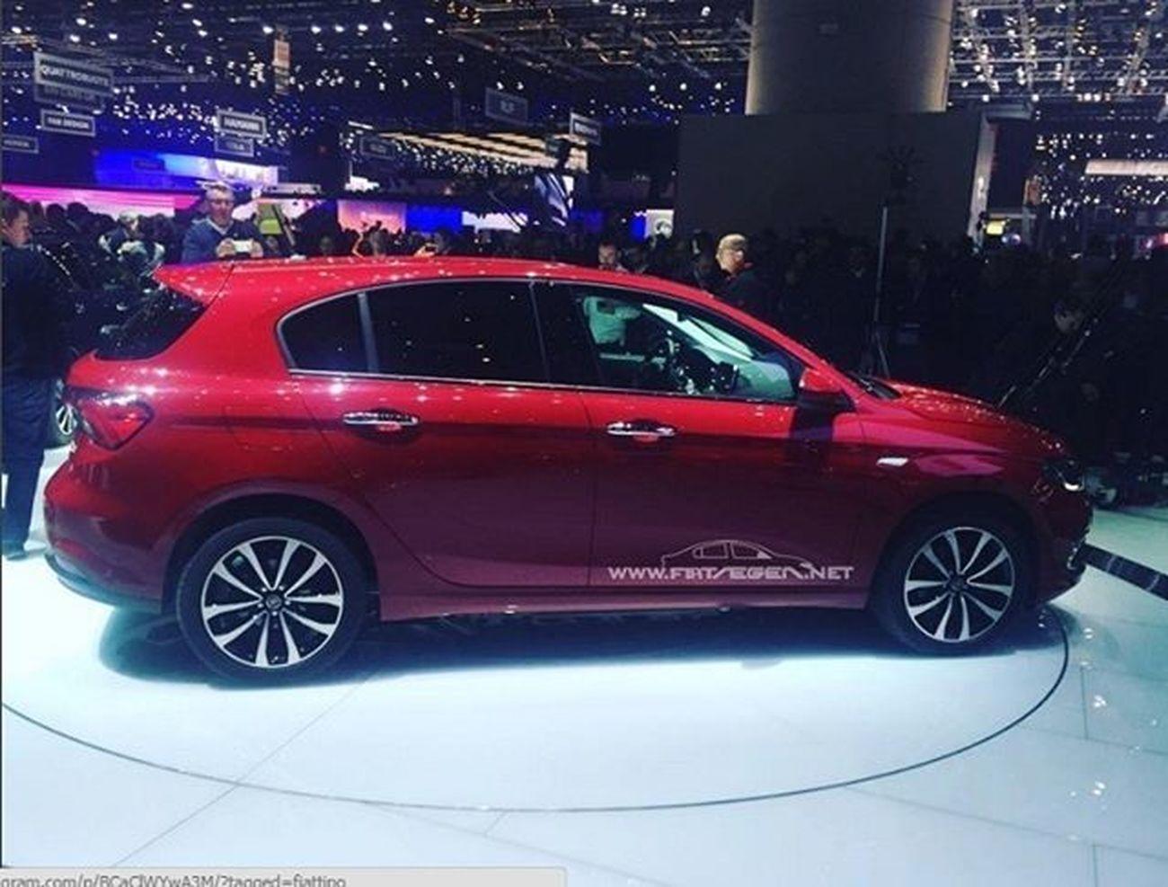 Fiategeahb cenevre otomobil fuarında tanıtıldı. Fiategeahatchback Fiattipohb Fiattipohatchback Fiategea FiatTipo