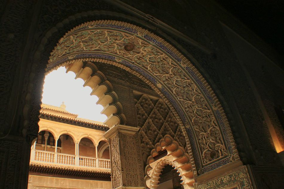 Realesalcazares Arch Sevilla, España Arabic Style Architectural Detail Architecture_collection Architecture Painted Stone Arabesque Arabesk Real Alcazar Andalucia_monumental No People EyeEm Gallery Eyeem Architecture Lover Travel Photography Travel Travel Destinations Seville Sevilla The Architect - 2016 EyeEm Awards Your Design Story