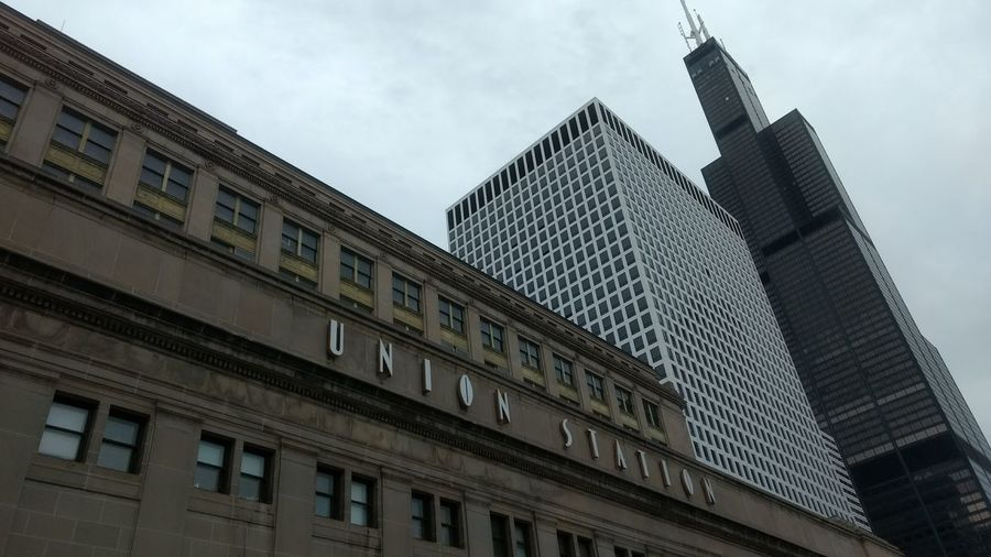 Architecture in Chicago. EyeEmNewHere Chicago Architecture Chicago Architecture Building Willis Tower Unionstation