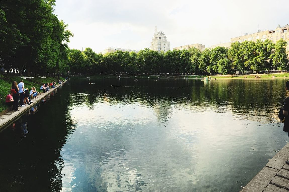 Патриаршие пруды Москва Moscow Summer Water Reflections Relaxing I Love My City