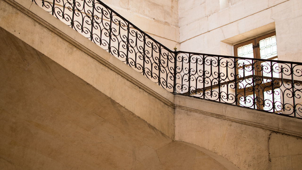 Architecture Built Structure Check This Out Day Eye For Photography Eye4photography  EyeEm Best Shots EyeEm Gallery EyeEmBestPics Hello World Indoors  Invalides  Low Angle View No People Paris Pattern Railing Staircase Steps And Staircases