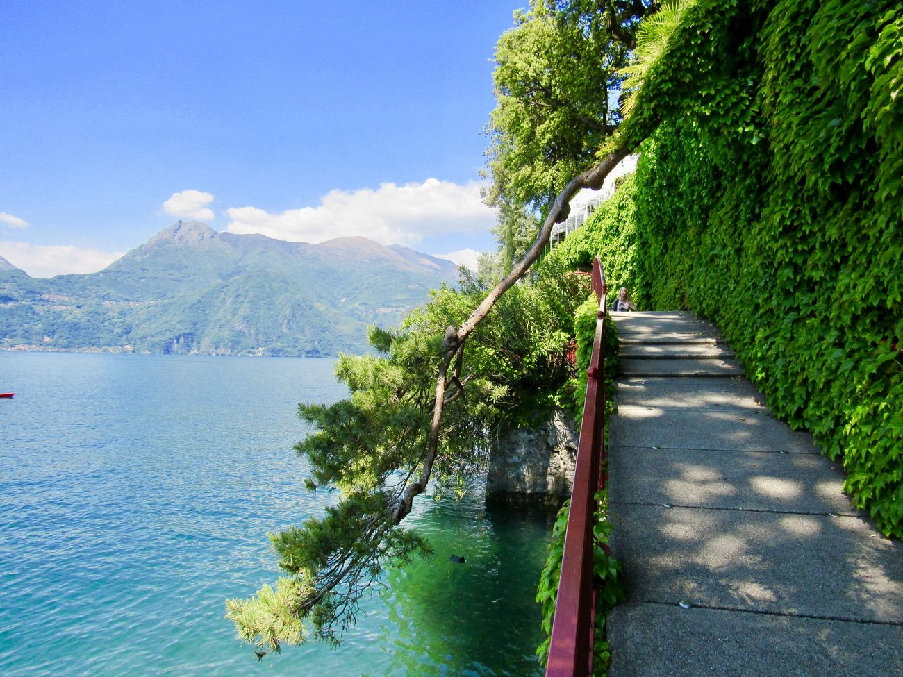 Beauty In Nature Blue Day Mountain Nature Sky Tranquil Scene Tranquility Tree Varennaitaly Water