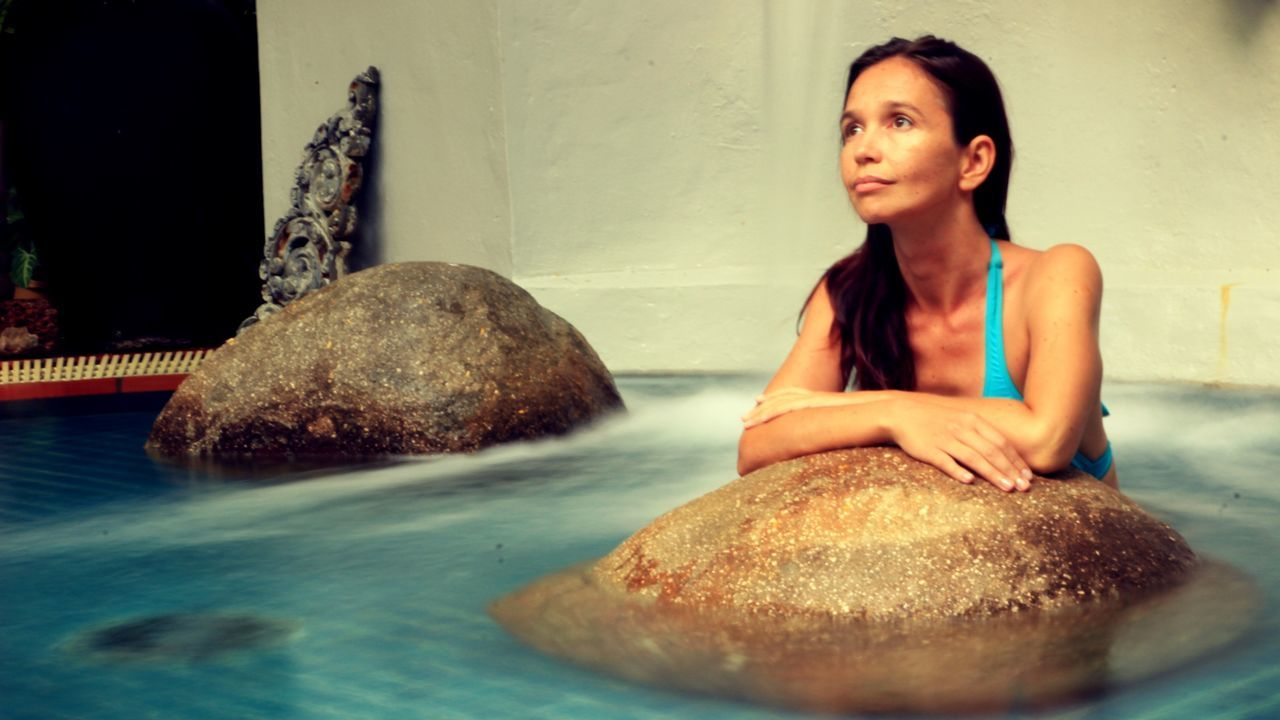 Beautiful stock photos of spa, Bikini, Carefree, Caucasian Ethnicity, Contemplation