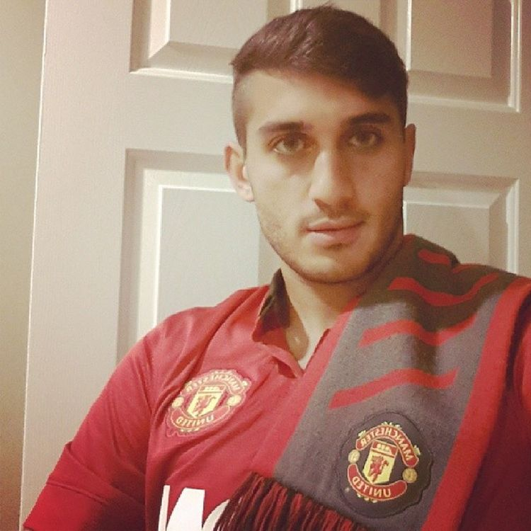 Feeling great after TheGame today and Vanpersies goal love ManUtd Oneteam