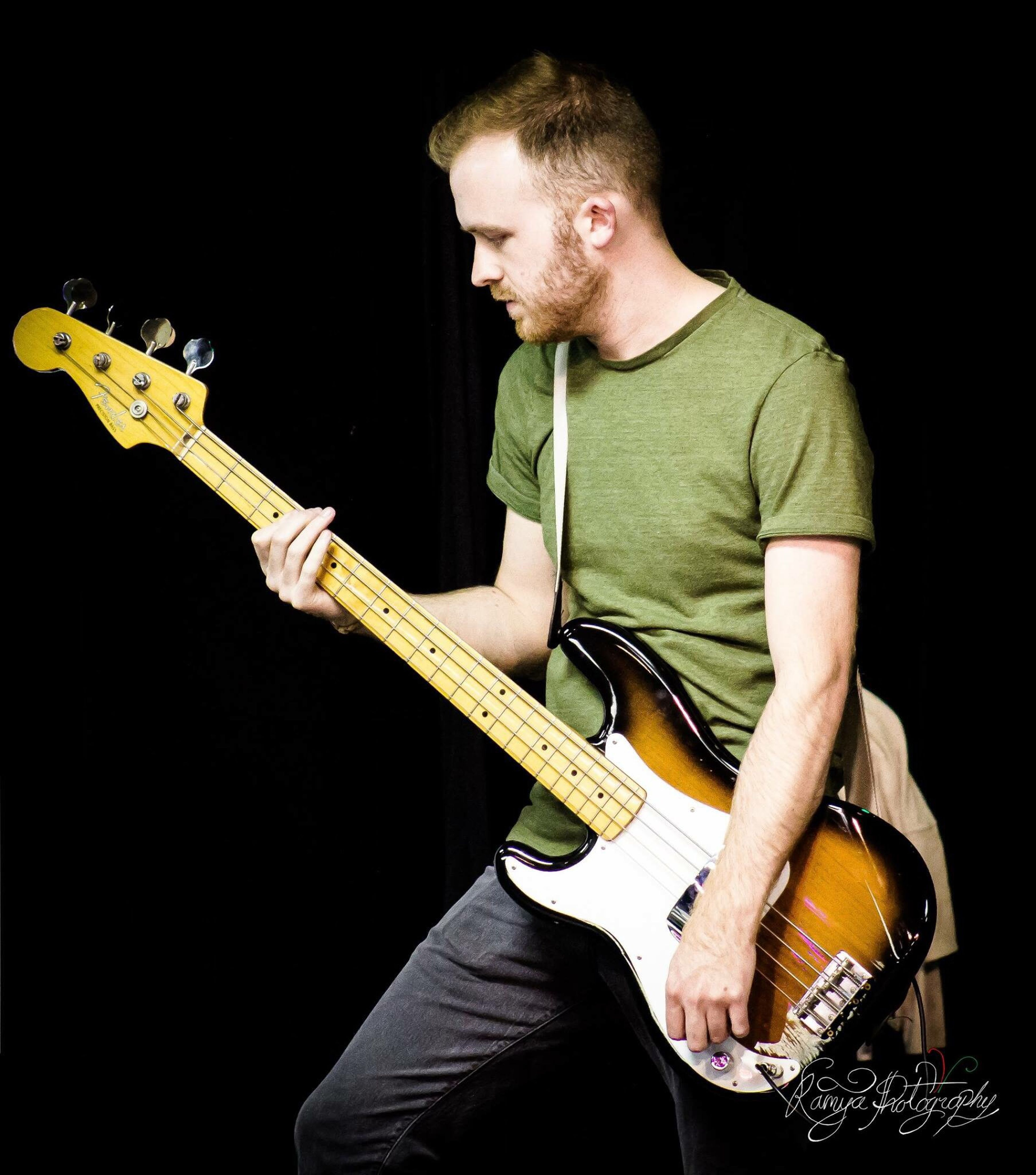 Jordan Carter Kamyaphotography Musicians Music Guitarist Bass Lefthanded Lefthandedguitarist
