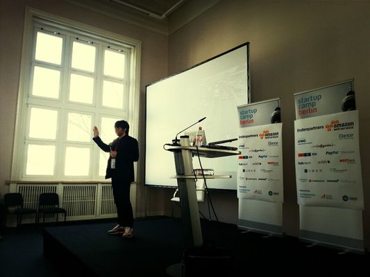 Conrad Fritzsch from @tape_tv at #scb13 by jankbx