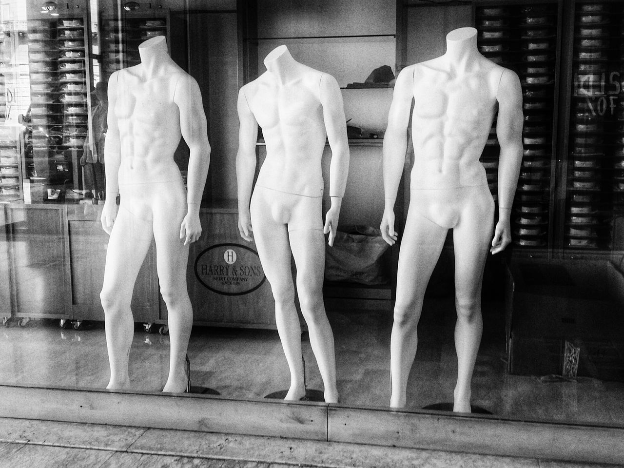 mannequin, fashion, store, human representation, clothing, retail, men, indoors, day, people