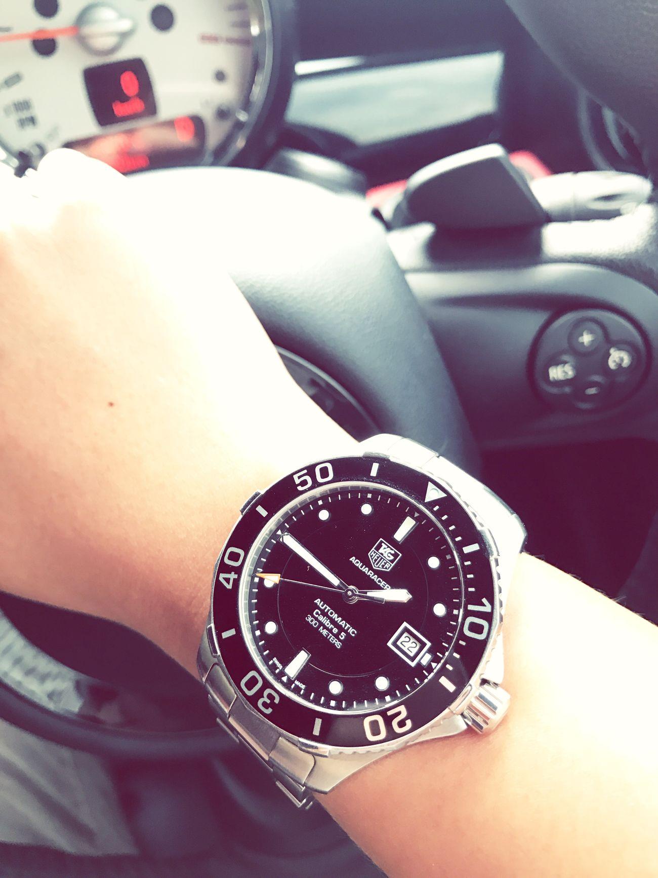 TIME GO FAST Tagheuer Calibre50