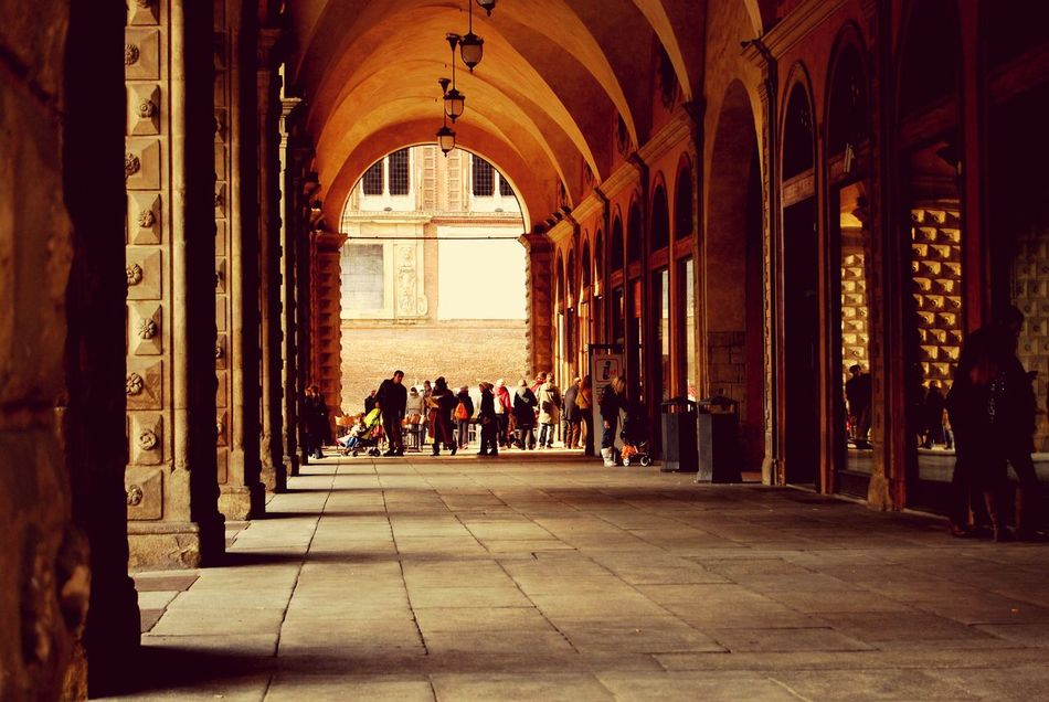 Beautiful stock photos of bologna, Arch, Bologna, Building, Corridor