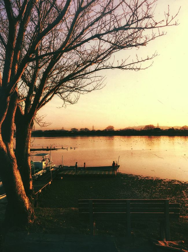 Lake Landscape Afternoon Check This Out IPhoneography Eyem Best Shots Beautiful Sunset